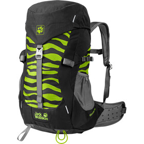 Jack Wolfskin Alpine Trail Backpack Children green/black